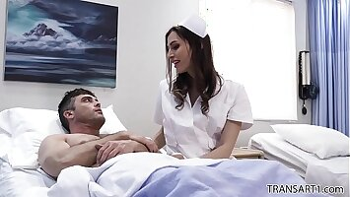 Tranny nurse makes the patient happier